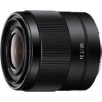 Sony Lens E-mount FE 28mm f/2 [SEL28F20]
